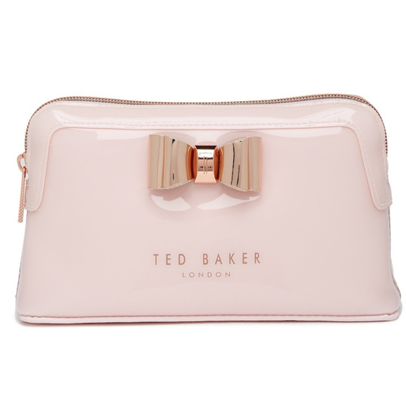 9492f821ea Ted Baker Bags | Cosmetic Bag Baby Pink Make Up Wash New | Poshmark